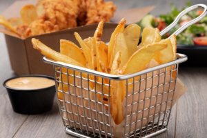 Crispy Golden Brown Fries